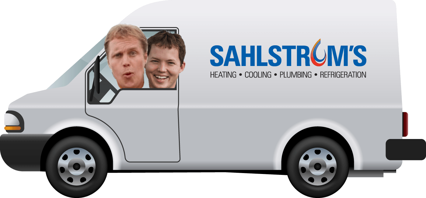 Sahlstroms Heating and Refrigeration Van
